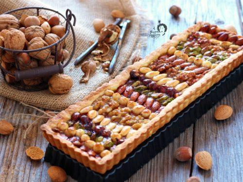 Crostata Frutta Secca e Marmellata