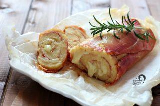 Rotolo di patate con Speck e provola