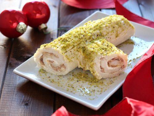 Tronchetto salato al Tonno antipasto di Natale