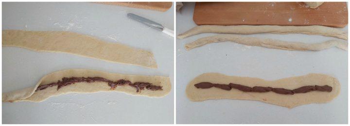 albero della vita dolce di pasqua pan brioche alla nutella