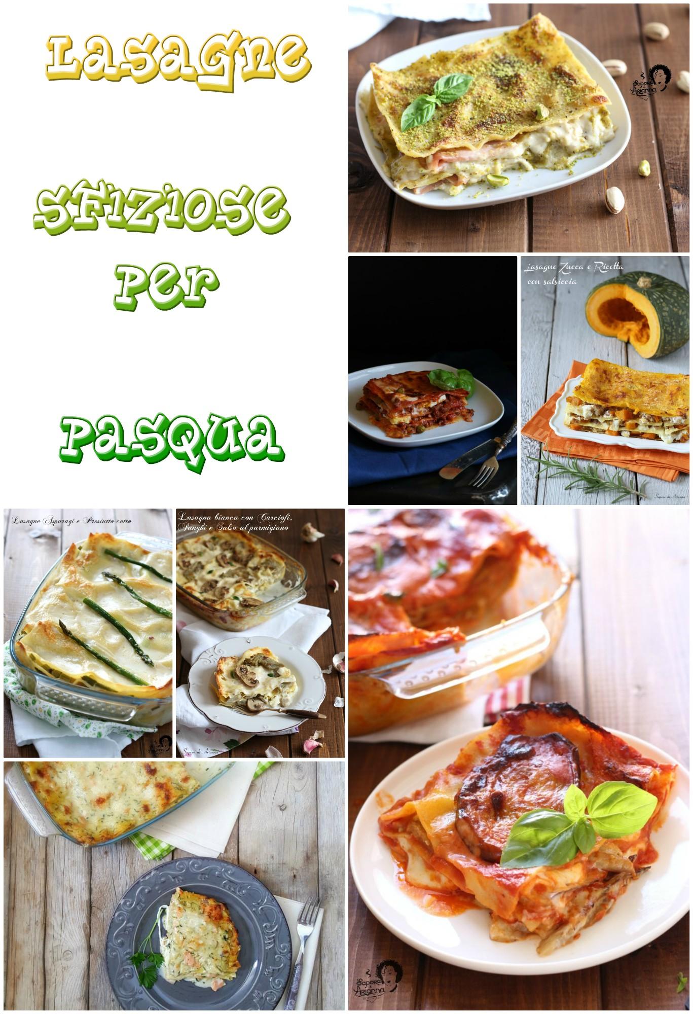 lasagne sfiziose per Pasqua