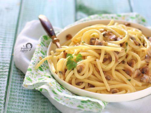 Pasta con Vongole sgusciate Congelate o in Vasetto