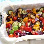 mix di verdure estive al forno light
