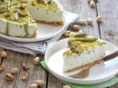 Cheesecake al Pistacchio SENZA GELATINA
