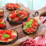 melanzane light con pomodorini alla crudaiola