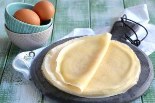 crespelle per cannelloni, lasagne e crepes salate