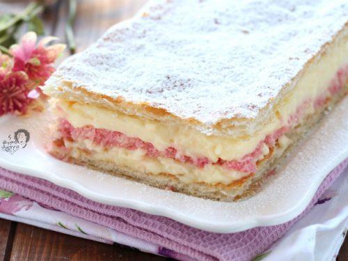 Torta DIPLOMATICA con ALCHERMES e crema pasticcera