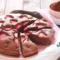 Torta al Latte caldo con Fragole e Cacao