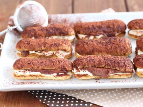 Pavesini con Mascarpone e Nutella al Caffè