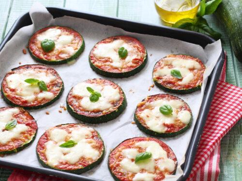 Pizzette di ZUCCHINE al forno