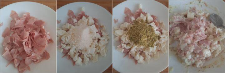 arancini pistacchio e mortadella