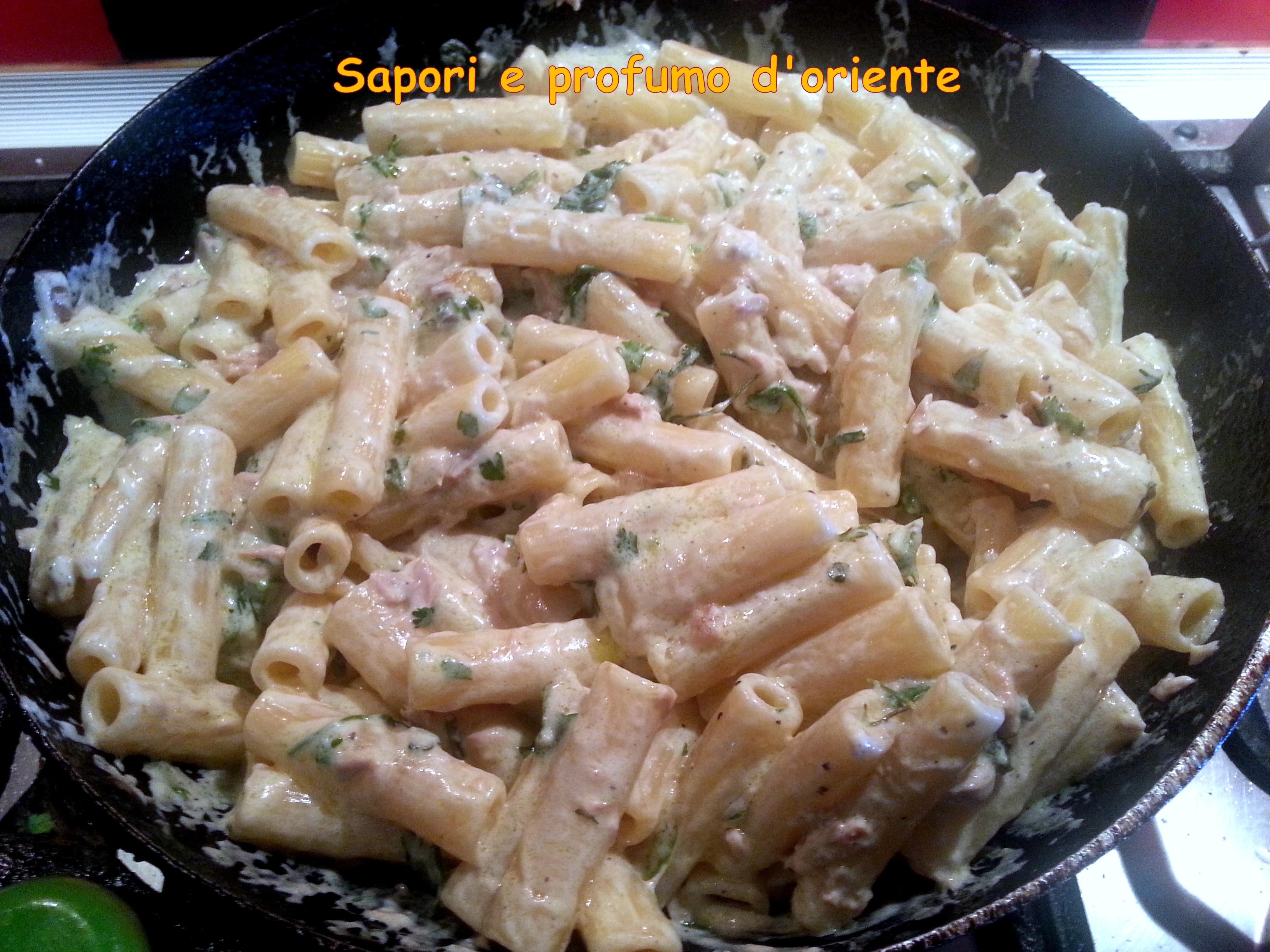 Ricette pasta mascarpone e tonno