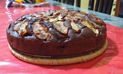 Torta Cioccolato e Mele al Rum