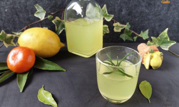 Liquore al mandarino e limone fatto in casa