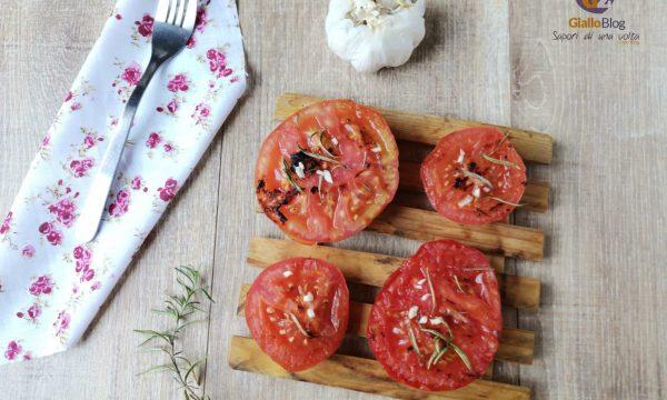 Pomodori grigliati