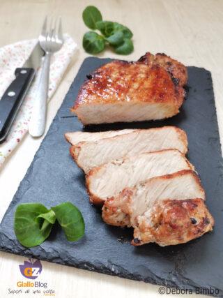 filetto di maiale marinato