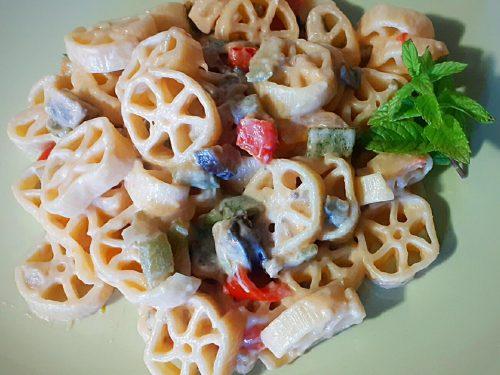 RUOTE GRANDE ESTATE piatto freddo con verdure di stagione