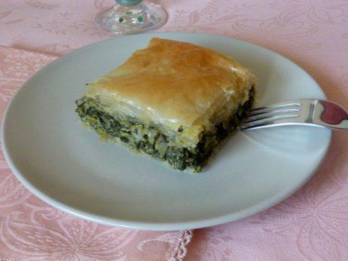 Torta salata spinaci e bietola