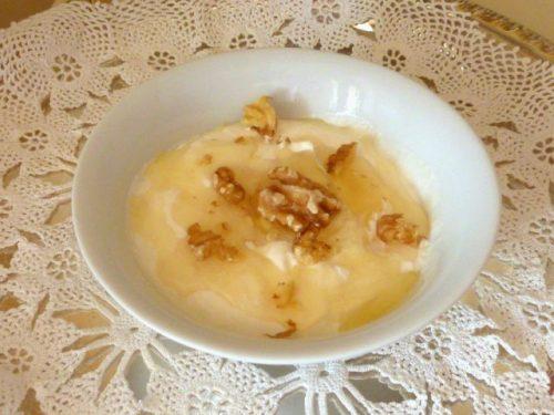 Mousse gelata di yogurt