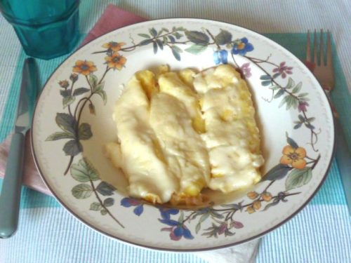 Crepes salate ai formaggi