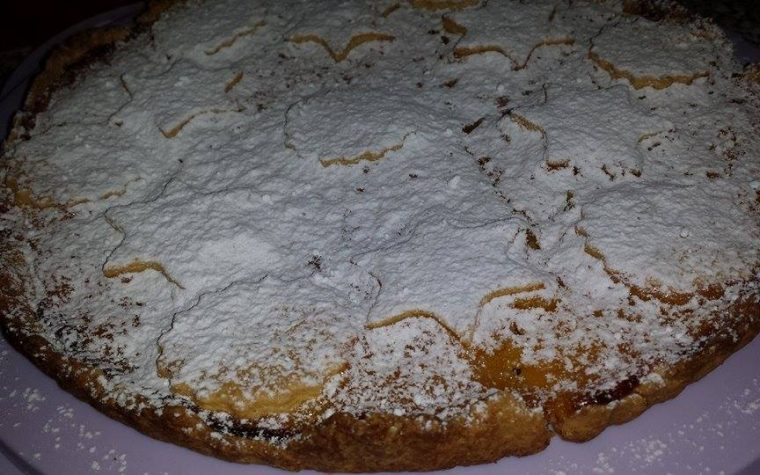 Crostata con crema al limone (ricettario paneangeli)
