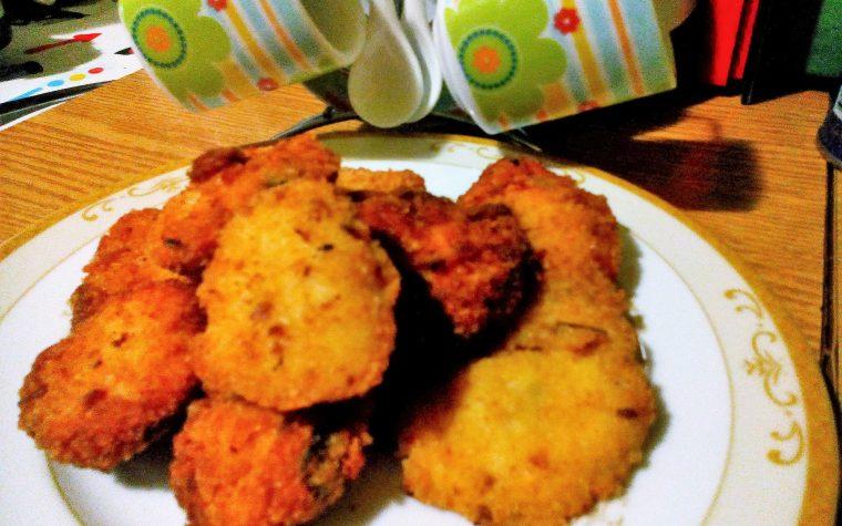 Polpettine di pollo fritte
