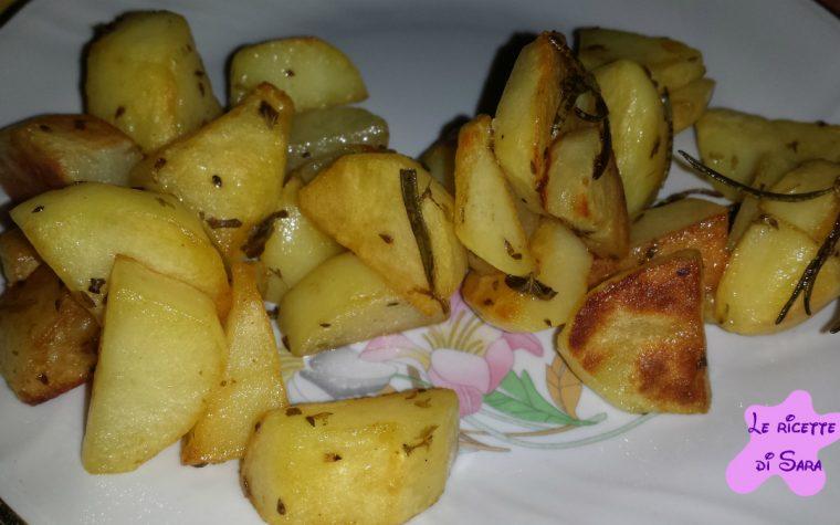 Patate croccantissime al forno
