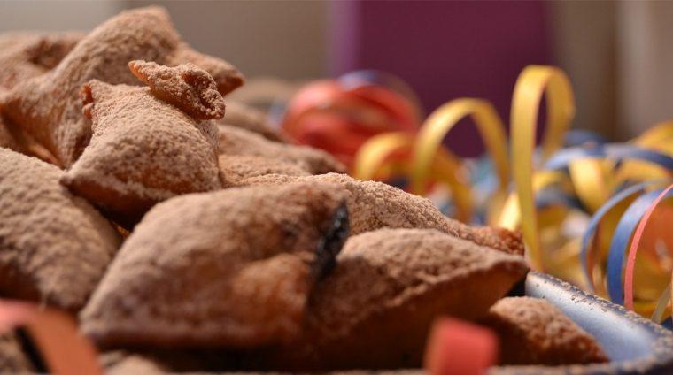 Bugie ripiene alla Nutella