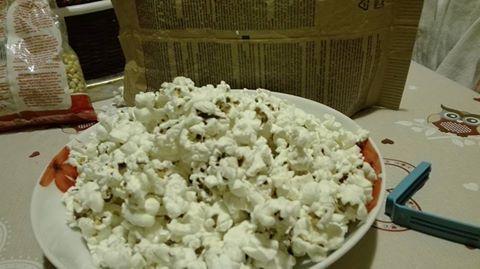 Popcorn con il microonde (metodo economico)
