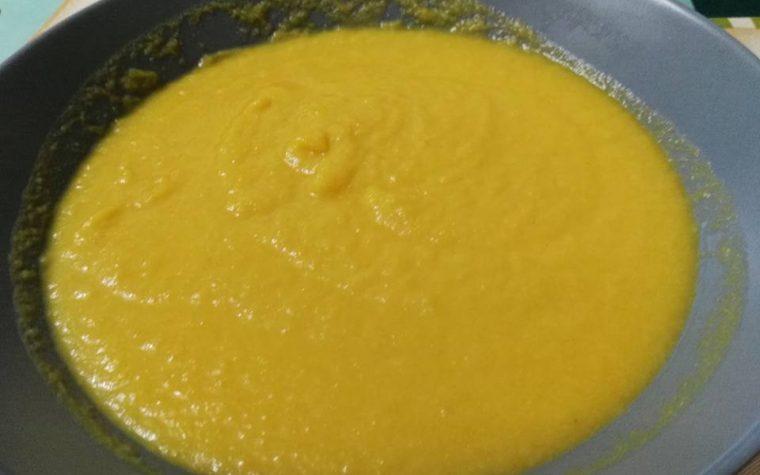Vellutata cavolfiore e carote