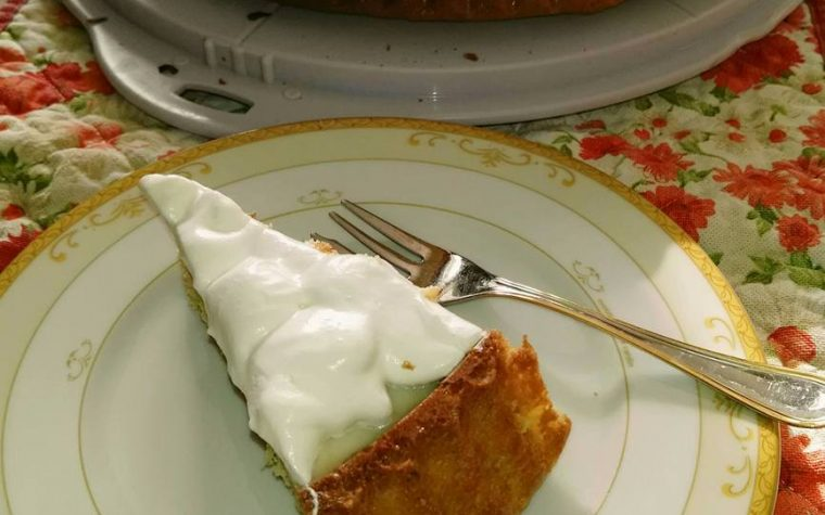 Crostata morbida crema e panna montata