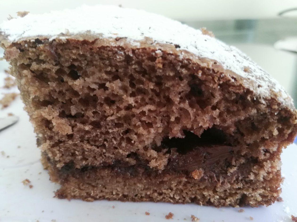 Bagno Nella Nutella.Torta Alla Nutella Di Benedetta Rivisitata Le Ricette Di Sara