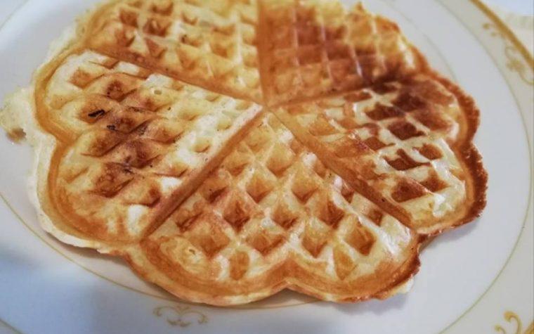 Waffles o Gaufres con il bimby e senza