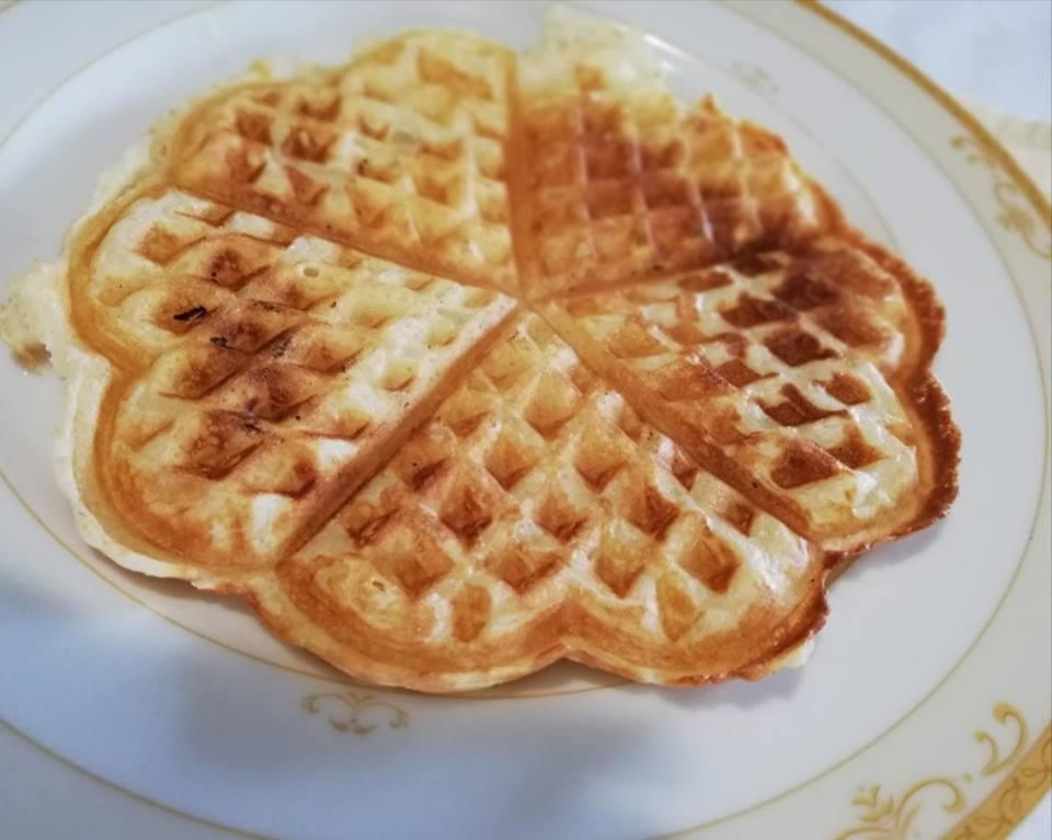 Ricetta Wafer Con Bimby.Le Ricette Di Sara Waffles O Gaufres Con Il Bimby E Senza