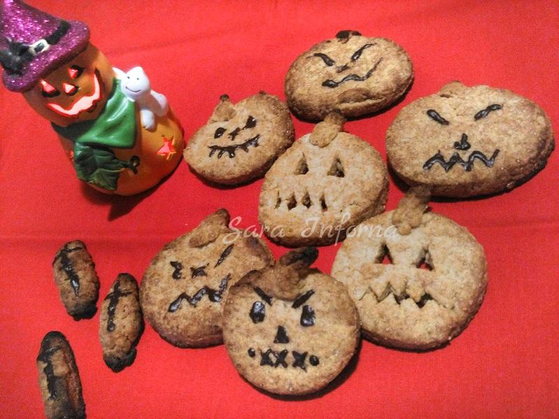 Biscotti di halloween - ricetta senza lattosio
