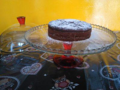Torta cioccolato fondente e arancia-forno estense e tradizionale
