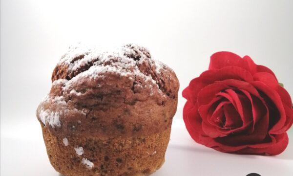 Muffins con rapa rossa  e cioccolato