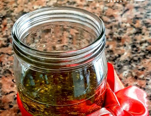 Pesto di basilico fatto in casa mia