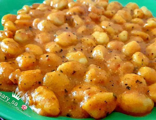 Gnocchi di patate al pomodoro cremosi