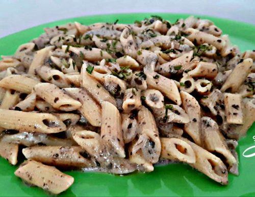 Penne alla crema di olive ricetta veloce