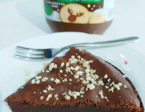 Torta alla Nutella con solo due ingredienti