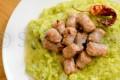 Polenta e Broccoli con Bocconcini di Luganega