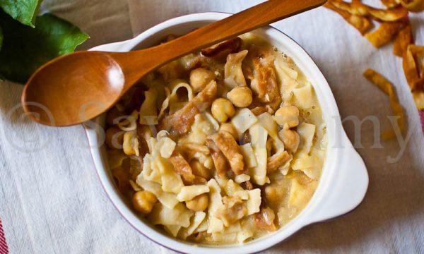 Ciciri e Tria-La Pasta e Ceci di San Giuseppe