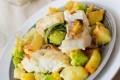 Baccalà con Patate e Broccolo Romano