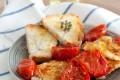 Filetto di merluzzo con pomodorini