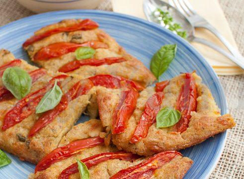Frittata al forno con i pomodori