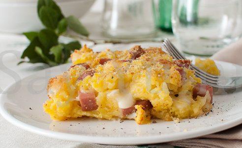 Pasticcio di patate senza uova – Ricetta salvacena