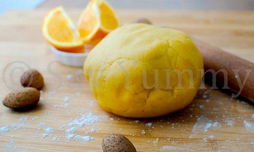 Pasta Frolla all'arancia- Ricetta delle feste