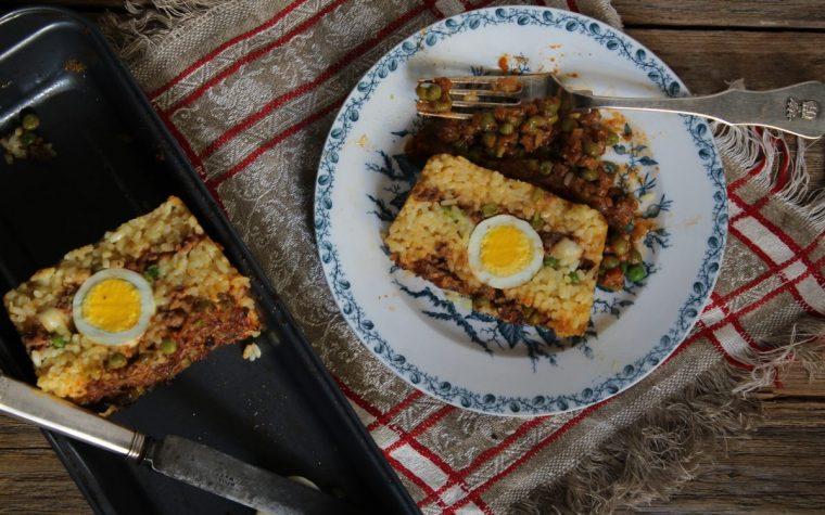 Timballo di riso al forno alla Siciliana