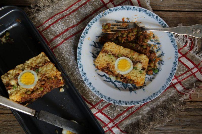 Timballo di riso al forno alla Siciliana (buono come il ripieno dell'arancina!!)